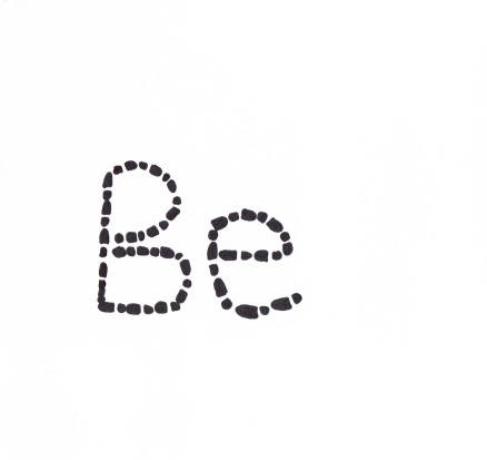 Be, Ink on paper 300DPI